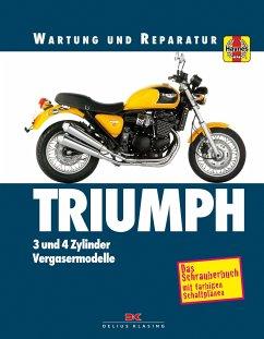 Triumph 3- und 4-Zylinder - Coombs, Matthew; Cox, Penny