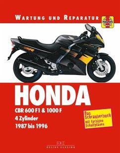 Honda CBR 600 F & 1000 F - Coombs, Matthew; Cox, Penny