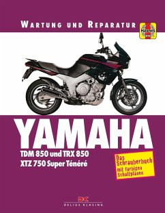 Yamaha TDM 850/TRX 850 - Coombs, Matthew