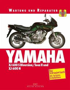 Yamaha XJ 600 S Diversion SECA II und XJ 600 N - Coombs, Matthew