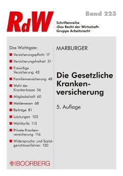 Die Gesetzliche Krankenversicherung (eBook, ePUB) - Marburger, Klaus