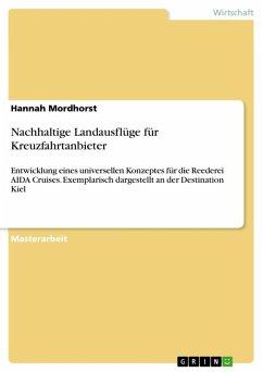 Nachhaltige Landausflüge für Kreuzfahrtanbieter (eBook, ePUB)