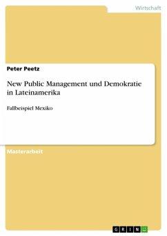 New Public Management und Demokratie in Lateinamerika (eBook, ePUB)
