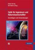 Optik für Ingenieure und Naturwissenschaftler (eBook, PDF)