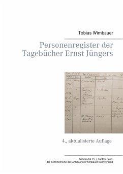 Personenregister der Tagebücher Ernst Jüngers