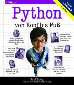 Python von Kopf bis Fuß - Barry, Paul
