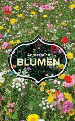 Adressbuch Blumen