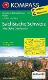 Kompass Karte Sächsische Schweiz - Westliche Oberlausitz