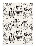 Ladytimer Ringbuch Owls 2018