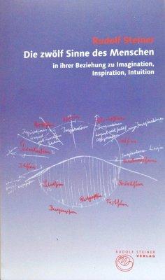 Die zwölf Sinne des Menschen in ihrer Beziehung zu Imagination, Inspiration und Intuition - Steiner, Rudolf