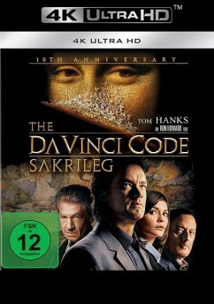The Da Vinci Code - Sakrileg 10th Anniversary Edition / 4K Ultra HD Blu-ray