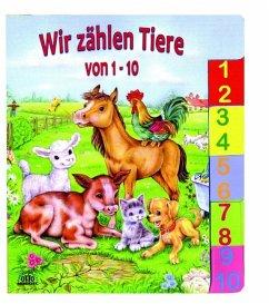 Wir zählen Tiere von 1 bis 10