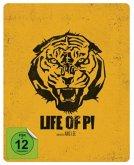 Life of Pi - Schiffbruch mit Tiger Steelbook