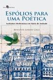 Espólios para uma poética (eBook, ePUB)