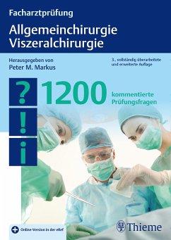 Facharztprüfung Allgemeinchirurgie, Viszeralchirurgie (eBook, ePUB)