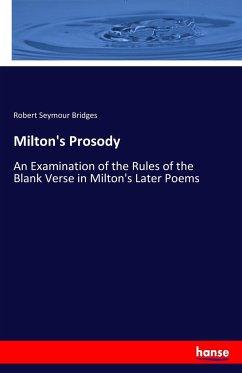 Milton's Prosody