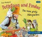 Pettersson und Findus - Die neue große Hörspielbox, 3 Audio-CDs