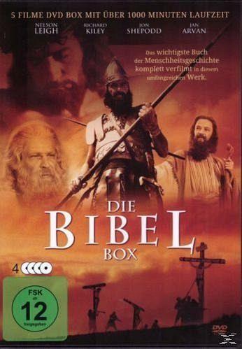 die bibel box dvd box auf dvd portofrei bei b. Black Bedroom Furniture Sets. Home Design Ideas