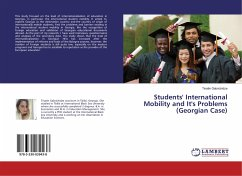 Students' International Mobility and It's Problems (Georgian Case) - Gabrichidze, Tinatin