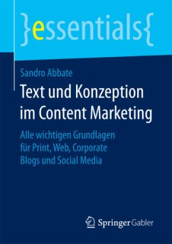 Text und Konzeption im Content Marketing