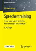 Sprechertraining
