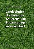 Landschaftstheoretische Aquarelle und Spaziergangswissenschaft