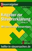 Ratgeber zur Steuererklärung 2016/2017 (eBook, ePUB)