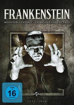 Frankenstein: Monster Classics - Complete Collection DVD-Box - Boris Karloff