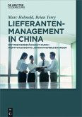 Lieferantenmanagement in China (eBook, PDF)