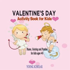 Valentine's Day Activity Book for Kids - Scholar, Young