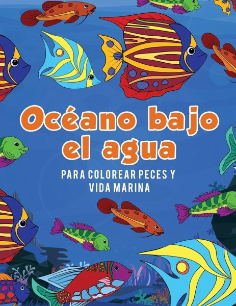 Océano bajo el agua para colorear peces y vida marina von Young ...