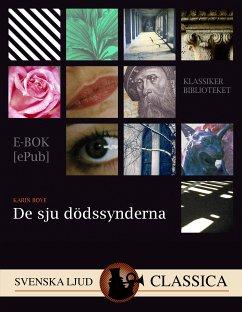 9789176390399 - Boye, Karin: De Sju Dödssynderna (eBook, ePUB) - Bok