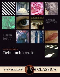9789176390412 - Strindberg, August: Debet och Kredit (eBook, ePUB) - Bok