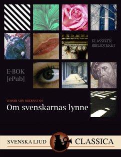 9789176391105 - von Heidenstam, Verner: Om svenskarnas lynne (eBook, ePUB) - Bok