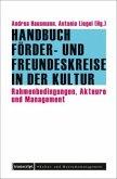 Handbuch Förder- und Freundeskreise in der Kultur