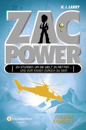 Buch-Reihe Zac Power von H. I. Larry