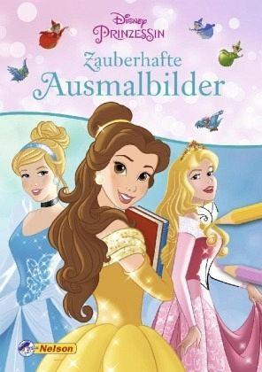 Disney Prinzessin Zauberhafte Ausmalbilder