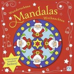 Wunderschöne Mandalas Weihnachten