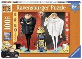 Minions: Gru und Dru. Puzzle 100 Teile XXL
