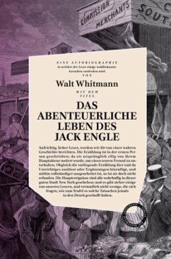 Das abenteuerliche Leben des Jack Engle - Whitman, Walt