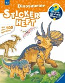 Dinosaurier Stickerheft