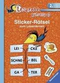 Sticker-Rätsel zum Lesenlernen (2. Lesestufe)