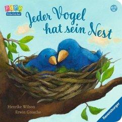 Jeder Vogel hat sein Nest