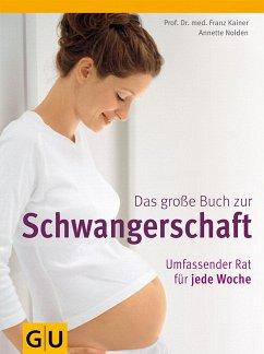 Das große Buch zur Schwangerschaft (Mängelexemplar) - Kainer, Franz; Nolden, Annette