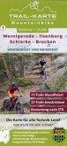 MTB Trail-Karte Harz: Wernigerode - Ilsenburg - Schierke - Brocken