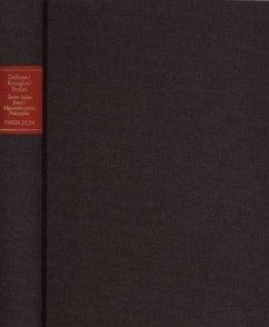 Forschungen und Materialien zur deutschen Aufklärung / Abteilung III: Indices. Kant-Index. Tetens-Index. Band 1: Stellenindex und Konkordanz zu Johann Nicolaus Tetens'