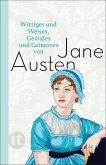 Witziges und Weises, Geniales und Gemeines von Jane Austen (eBook, ePUB)
