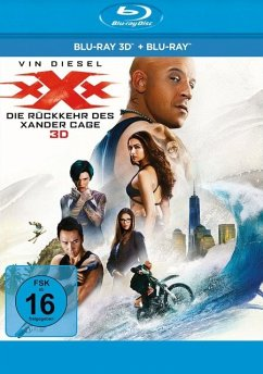 xXx - Die Rückkehr des Xander Cage - 2 Disc Bluray - Vin Diesel,Donnie Yen,Deepika Padukone