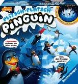 Ravensburger 21325 - Plitsch Platsch Pinguin - großer Spielspaß mit Geschicklichkeitsfaktor für Kinder und Erwachsene -