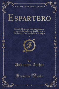 9780243996254 - Author, Unknown: Espartero, Vol. 2 - Book